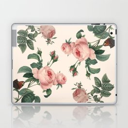 Rose Garden Butterfly Pink Laptop & iPad Skin