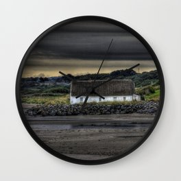 Cottage @ Laytown Beach Wall Clock
