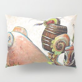 Tiki Octopus Pillow Sham