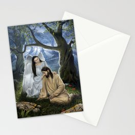 Gethsemane - Christian Painting Stationery Cards