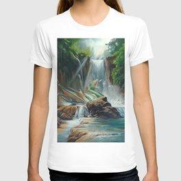 Fishing fantasy dragon T-shirt