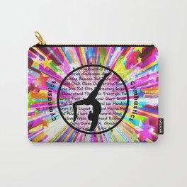 rainbow star gymnast Carry-All Pouch