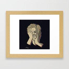 Starman Bowie Framed Art Print