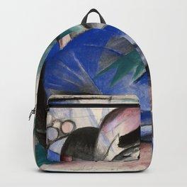 Franz Marc - Dreaming Horse Backpack