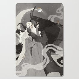 Krampus and Perchta III Cutting Board