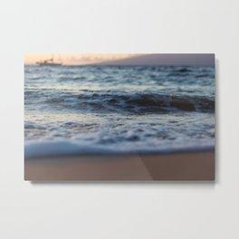 Seafoam Metal Print
