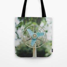 Vintage Fan Tote Bag