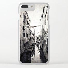 vivacità {b&w Clear iPhone Case