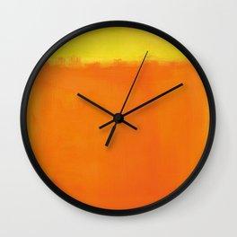 Mark Rothko - Untitled No 73 - 1952 Artwork Wall Clock