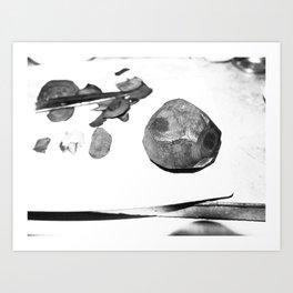 kitchen stone (beat) Art Print
