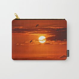 Red Sunset2 False Bay Carry-All Pouch