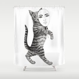 Cat walk Shower Curtain