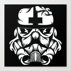 Satanic Trooper Canvas Print