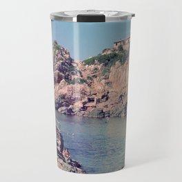 Hidden Coves On Spanish Islands Travel Mug