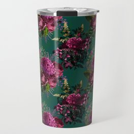 Beautiful Floral Garden Travel Mug