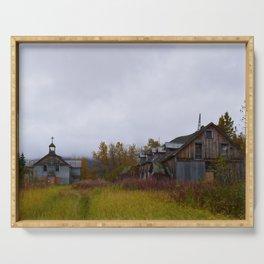 Abandoned Orphanage in Northwest Alaska Serving Tray