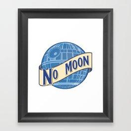 No Moon Brewery Framed Art Print