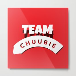 Team Chuubie Metal Print