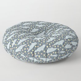 seals and stars Floor Pillow