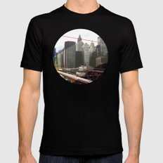 NY01 Black Mens Fitted Tee MEDIUM