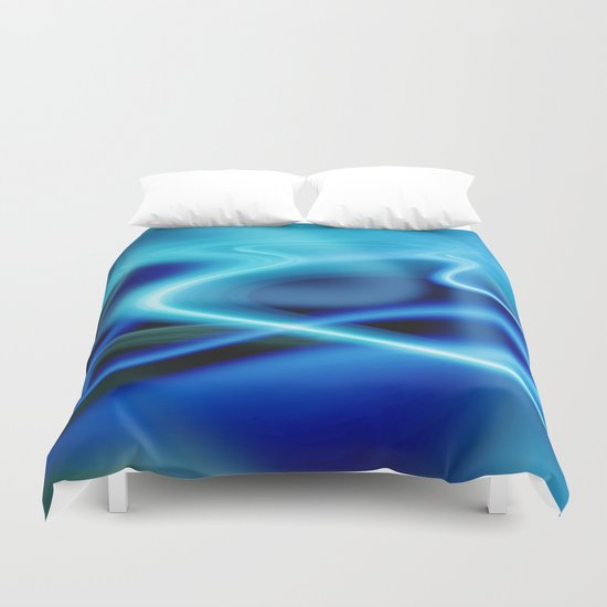 Surreal Swirl Duvet Cover