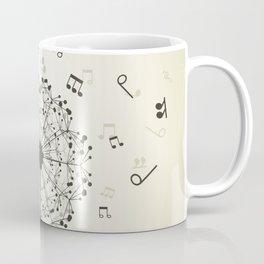 Music a dandelion Coffee Mug