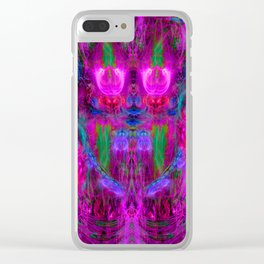 The Seer of The Ether Realm Clear iPhone Case