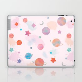 Paper Planets Laptop & iPad Skin