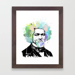 Frederick Douglass Framed Art Print