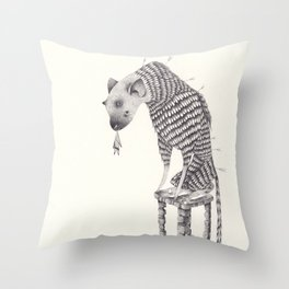 the last guardian  Throw Pillow