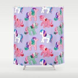 g1 my little pony twinkle eye pattern Shower Curtain