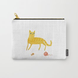 Nice Ginger Cat Carry-All Pouch