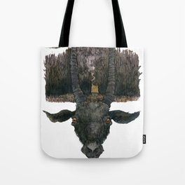 Black Phillip Live Deliciously Tote Bag