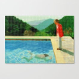 Lego: A lawn being sprinkled Canvas Print