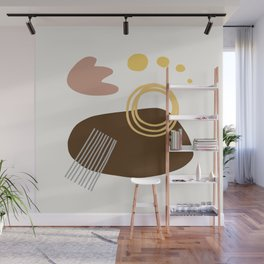 Desert Swimming Abstract Wall Mural