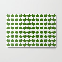 Leaf Pattern Metal Print
