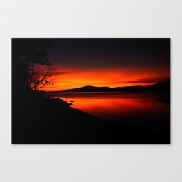 Sooke Basin Canvas Print