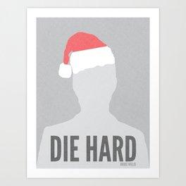 Die Hard Minimalist Poster Art Print