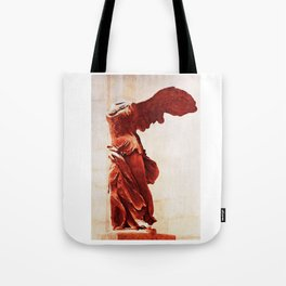 Winged Victory In The Louvre Tote Bag