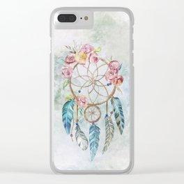Dream Catcher 3 Clear iPhone Case