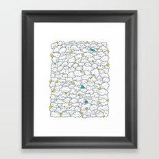 A Cloudy Night Framed Art Print