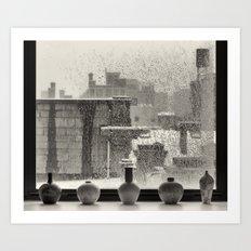 The Ice Storm Art Print