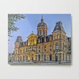 The Legislative Metal Print