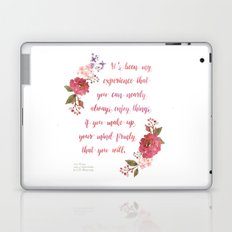 Anne of Green Gables Make Up Your Mind Laptop & iPad Skin