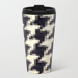 Pixel wallpaper 6 Metal Travel Mug
