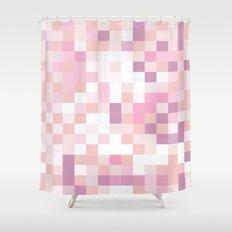 Matisse Map Blush Shower Curtain