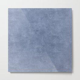 Stonewash Oil Pastel Color Accent Metal Print