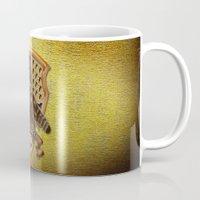 hufflepuff Mugs featuring Hufflepuff harry potter by JanaProject