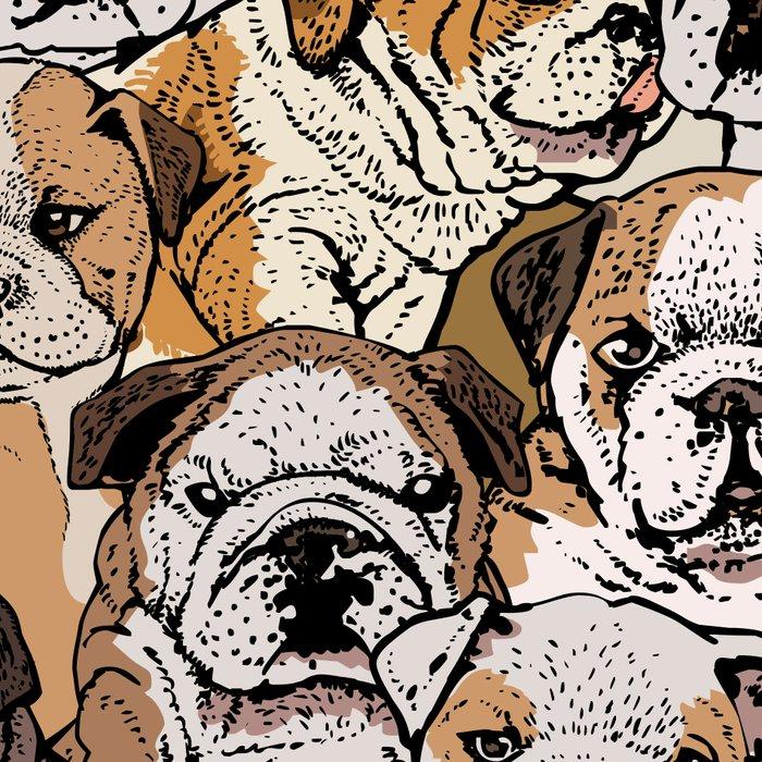 Social English Bulldog Leggings
