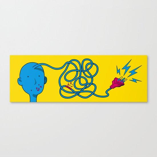 Connect Canvas Print
